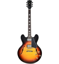 Полуакустическая гитара GIBSON 2018 MEMPHIS ES-335 FIGURED ANTIQUE SUNSET BURST