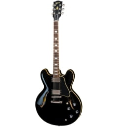 Полуакустическая гитара GIBSON 2018 MEMPHIS ES-335 TRADITIONAL VINTAGE EBONY