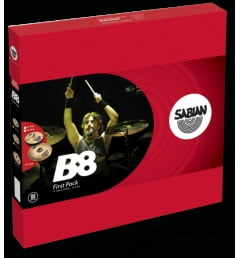 Комплект тарелок Sabian B8 FIRST PACK -45011