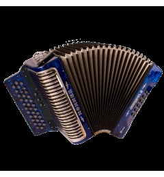 Аккордеон Hohner Corona II XTREME GCF, dark blue (A5421)