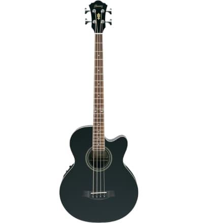 Акустическая бас-гитара Ibanez AEB8E BLACK
