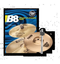 Комплект тарелок Sabian B8 PACK SPLASH N STACKER