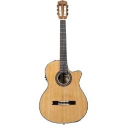 FENDER CN-240SCE THINLINE NATURAL, классическая электроакустическая гитара