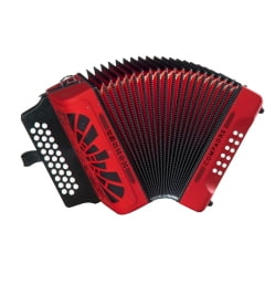 Аккордеон Hohner Compadre EAD, red (A4884S)