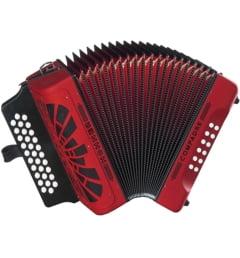 Аккордеон Hohner Compadre FBbEb, red (A4844)
