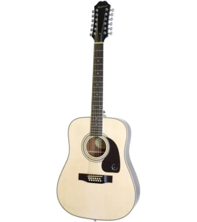 12 струнная гитара Epiphone DR-212 NATURAL CH HDWE