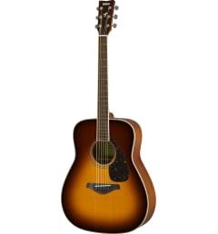 Акустическая гитара Yamaha FG820 BROWN SUNBURST