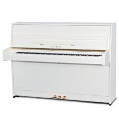 Пианино, белое полированное K-15E(B) WH/P