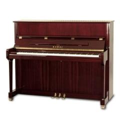 Пианино, красное дерево полированное K-200 MH/MP