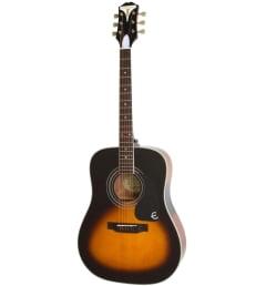 Акустическая гитара Epiphone PRO-1 PLUS Acoustic Vintage Sunburst