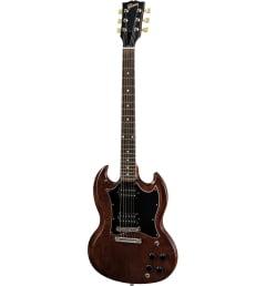 Бас-гитара Gibson SG FADED 2018 WORN BOURBON
