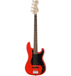 Бас-гитара Fender SQUIER AFFINITY PRECISION BASS PJ RW Race Red