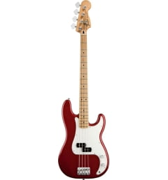 Бас-гитара Fender STANDARD PRECISION BASS MN CANDY APPLE RED TINT,