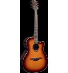 Электроакустическая гитара Lag T100ACE-BRS